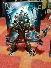Lego 8593 BIONICLE MAKUTA 100% Complete in box with instructions