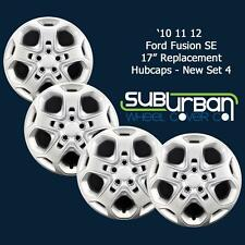 "'10 11 12 Ford Fusion SE Style 17"" Replacement Hubcaps # 457-17S BRAND NEW SET 4"