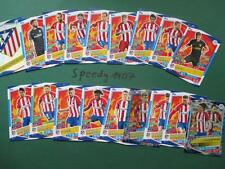 Topps Champions League 2016 17 all 18 Atletico Cards Logo Team Mates Goal King