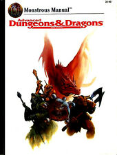 MONSTROUS MANUAL 2140 EXC+! Monster Manual Compendium Dungeons Dragons D&D TSR