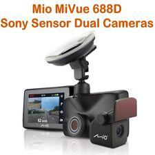 Mio GPS Car Camcorder DVR MiVue 688D w Dual Cameras(Front&Rear)+SONY SENSOR