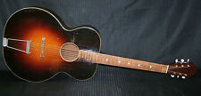 1930S Oahu 000/Jumbo size acoustic vintage guitar archtop/flat top hybrid