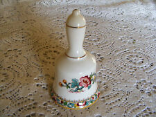 "Coalport     Ming    Rose    Pattern   Small    Bell    Height   3.3/4""  Inches"