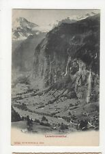 Switzerland, Lauterbrunnenthal Postcard, A860