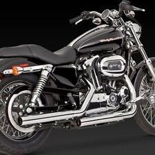 04-13 V&H STRAIGHTSHOTS HS SLIP-ON DE ESCAPE: Harley Sportster 883 y 1200 (16819)