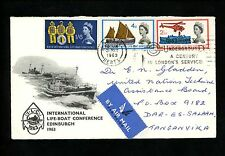 Postal History Great Britain Scott#395-397 FDC Life-Boat Rescue 5/31/1963 Baruet