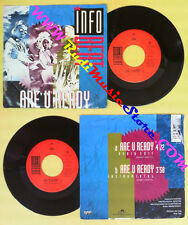 LP 45 7'' INFO BEAT Are u ready 1991 holland POLYDOR SILVER POINT no cd mc dvd *