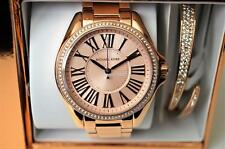 ❤️ NEW Michael Kors MK3569 Women's Kacie Bracelet Watch & Bracelet Box Set 39mm