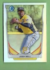 JOSH BELL  2014 BOWMAN CHROME REFRACTOR #CTP-16 PIRATES SP