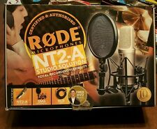 NEW Rode NT2-A Condenser Microphone - Studio Solution Package MICROPHONES Mic
