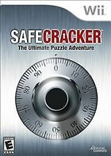 Safecracker Safe Cracker Ultimate Puzzle Adventure COMPLETE GREAT Nintendo Wii