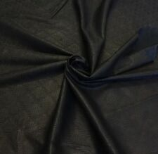 Genuine Lambskin Leather Thin Less Than 1oz Shrink Streched Skin Pb26101 Black