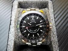 CYMA Navy Star World GMT Automatic Chronometer COSC Swiss Diver Watch Limited Ed