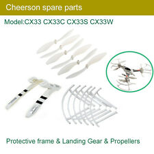 Cheerson RC Tricopter Parts CX33 Propeller Landing Gear CX-33-08 Frames CX-33-02