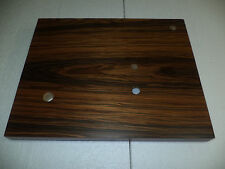PLINTH UPGRADE FOR  REGA TURNTABLES RP1,Planar 2,RP3 etc+Motor Pulley Rosewood