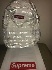 Authentic Supreme Backpack Black 3M Reflective
