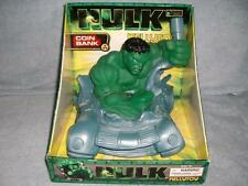 Hulk Movie Motion Picture Coin Bank 2003 Marvel Kelly Toy Universal New MIOB