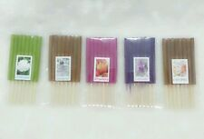 5 SCENTS 40 STICKS MIX AROMA MINI INCENSE STICKS HERB & FRAGRANCE(8), LENGTH 3""