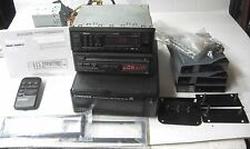 PIONEER KEX-M800 CDX-3 CDX-M50 SERVICED WORKING NEW REMOTE MANUAL TRIM
