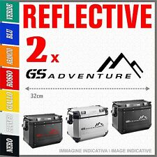 2x GS ADVENTURE black BMW MOTORRAD ADESIVI PEGATINA STICKERS R1150 R1200 GS A