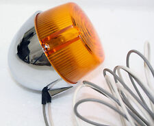 Chrome 12V Motorcycle Turn Signal / Running Light: Harley Davidson 68514-73 (A)