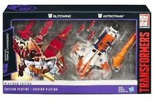 TRANSFORMERS PLATINUM EDITION TRIPLE CHANGER SET ASTROTRAIN AND BLITZWING USA
