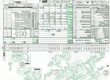 Y03  Audatex Explosionszeichnung Restaurierungshilfe Toyota Celica TA 22 23