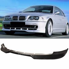 Fit For 99-03 BMW E46 2Dr Coupe H Style Front Bumper Lip PU
