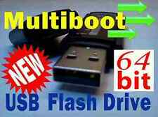 64bit Multi Boot USB Flash Drive. Bootable Linux Mint,Ubuntu,Fedora,OpenSuse +