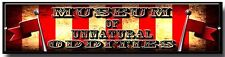 MUSEUM OF UNNATURAL ODDITIES METAL SIGN,AMERICAN HORROR STORY,EVAN PETERS,CIRCUS