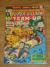 SUPER-VILLAIN TEAM-UP #5 VF (8.0) MARVEL DR DOOM