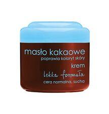 Ziaja manteca de cacao Luz fórmula Crema Para Servicio Normal Skin mejorar el color