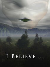 "05 I Want To Believe - X Files Art Movie Film UFO 14""x19"" Poster"