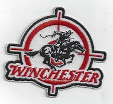 WINCHESTER FIREARMS  IRON ON PATCH BUY 2 GET 1 FREE = 3 of these.