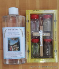 Holy water  anointing oil Jerusalem soil gift set  and Holy water   250 ml