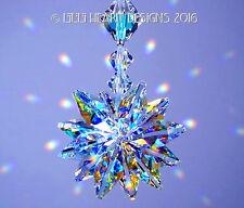 m/w Swarovski Aurora Borealis Starburst Pendant Suncatcher Lilli Heart Designs