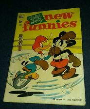 Walter Lantz New Funnies #172 1951 Dell g/vg andy panda woody woodpecker boxing