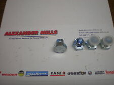 "ALEXMILLS Hydraulic Hose Adaptor Fitting 1/4"" BSP Male Bung Plug (4pk) Farm Agri"
