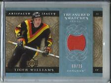 Tiger Williams 07/08 Upper Deck Artifacts Game Used Jersey #08/25