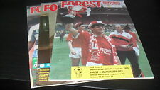 Nottingham Forest 5nr Home Games 1989-90 inc Man City/Liverpool/Everton