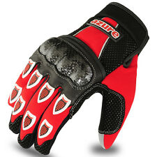 Motocross Gloves Racing Gloves Bmx Full Finger Enduro Mx Off-Road 1093 M Blk/Red