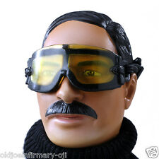 "Dragon Models US Military Yellow Goggles for 12"" Figures 1:6 Scale (1528e1)"