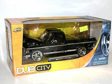 Jada Toys DUB CITY 53587, 1972 Chevrolet Chevy Cheyenne Pick-Up, black, 1:24