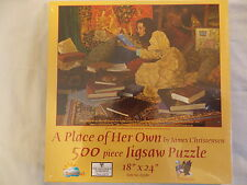 A Place of Her Own James Christensen Puzzle NIB 500 Pc