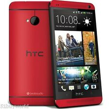 HTC One M7 2GB+32GB - Red Quad-Core Android 4G Mobile Smart Phone Unlocked WIFI