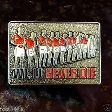 United Badge 3D Antique Munich Remembrance 1958 Line Up Players Team Gift