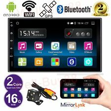 "Android 7"" Quad Core 2 Din Stereo Car NO DVD player GPS Radio SD/BT/Wifi Camera"
