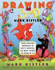 Large 3-D Drawing Book with Mark Kistler  282 Pages of Drawing Illustration NEW