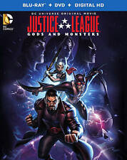 Justice League: Gods and Monsters (Blu-ray + DVD + Digital HD UltraViolet Combo