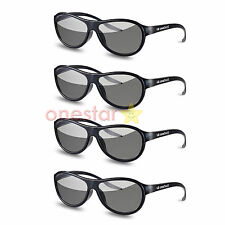4 Pairs LG Cinema AG-F310 3D Polarized PASSIVE GLASSES for LG TCL LCD TV New